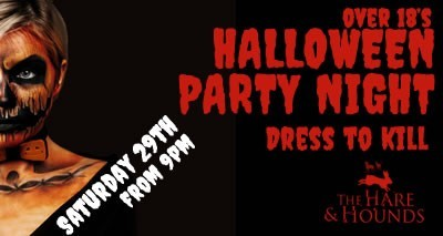 <h1>Adults Halloween Party</h1>